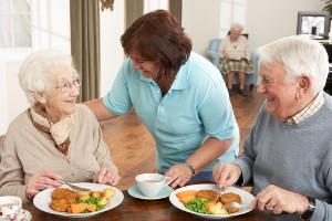 Catering para mayores de 65 años